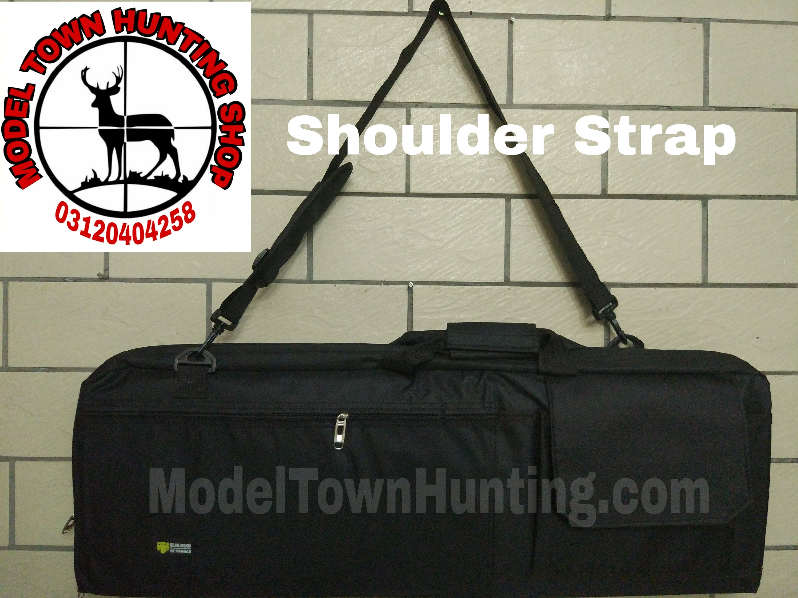 Bull Pup Gun Bag with Removable Egg Shell Padding