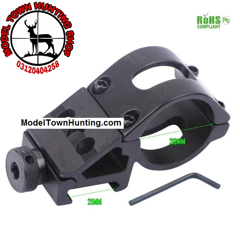 Flashlight Side Mount for 20mm rail T3008